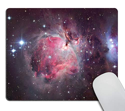 Smooffly Orion Nebula Galaxy Ddesign Customized Rectangle Non-Slip Rubber Mousepad Gaming Mouse Pad 9.5 X 7.9 Inch (240mmX200mmX3mm)