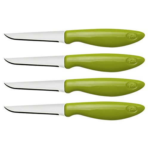 Joie 26028 Stainless Steel Flexible Paring/Garnishing Knives (Set Of 4)