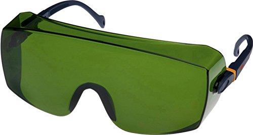 3M Schutzbrille 2805, AS, UV, PC, grün getönt, IR 5.0 - geeignet für autogenes Schweißen und Hartlöten