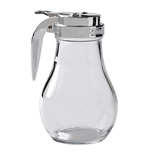Great Credentials Syrup Dispenser with Cast Zinc Top, 14-Ounce (1, 14 OZ)
