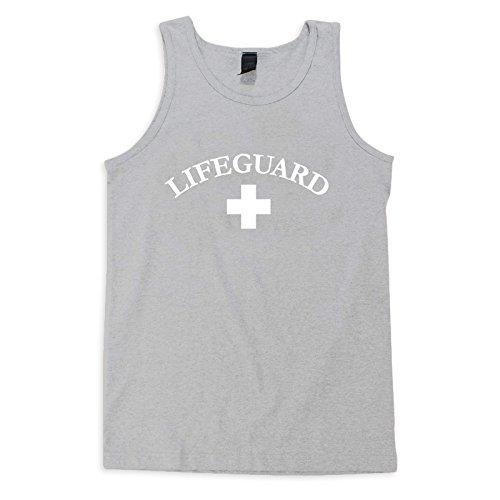 Big Save! VLX Lifeguard Tank Tee - LifeguardLogo,Light Grey,XXL