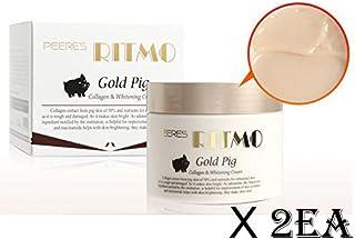 [RITMO] Gold Pig Collagen & Whitening Dual Functionality Cream 100ml x 2EA/Korean
