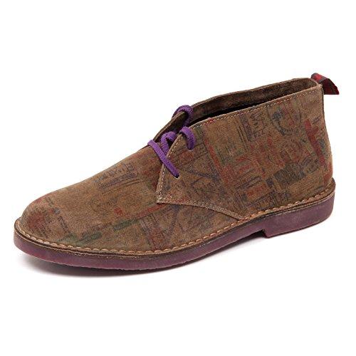 Wally Walker D4384 Polacchino Uomo Brown Scarpa Shoe Boot Man [45]