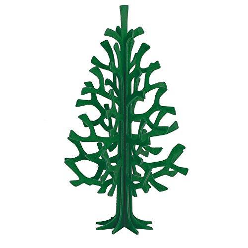 Lovi ロヴィ オーナメントカード ミニツリー クリスマスツリー Momi-no-ki 14cm DKGR ダークグリーン 白樺 組み立て式 フィンランド製