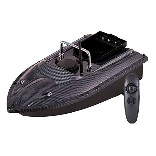 DYJD Pesca Inteligente Barco RC del Cebo Barco 500M de Control Remoto 1,5 kg Cargando buscador de los Pescados de Gran Capacidad de Carga RC Barco Lancha de Motor Dual,Gray Blue