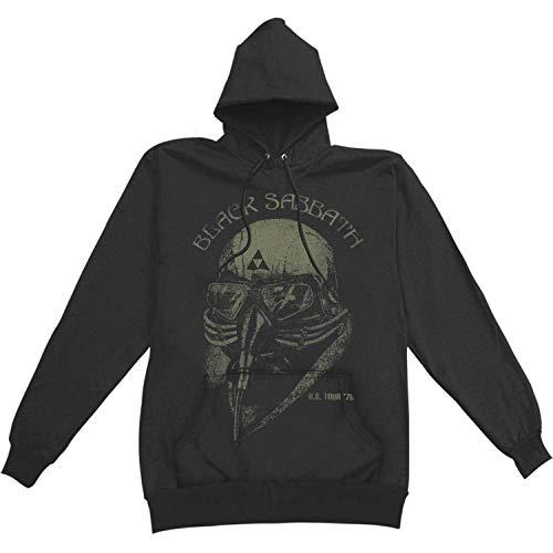Black Sabbath Men's U.S. Tour '78 Hooded Sweatshirt Large Black