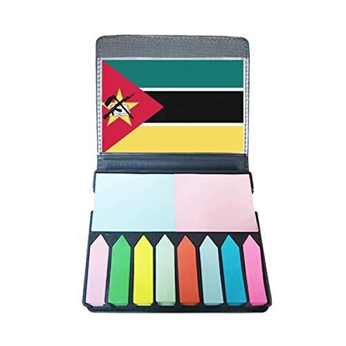 MozambiqueNational Vlag Afrika Land Zelf Stick Opmerking Kleur Pagina Marker Doos