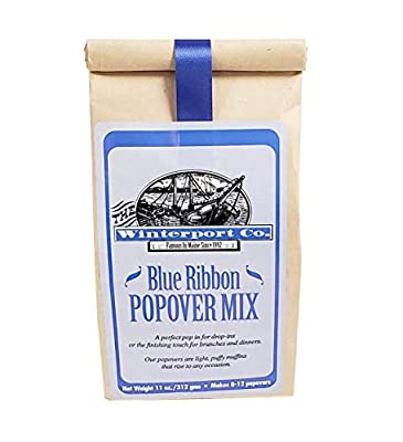 Winterport Co. Traditional Popover Mix, 11 Ounce, Made in Maine, All Natural