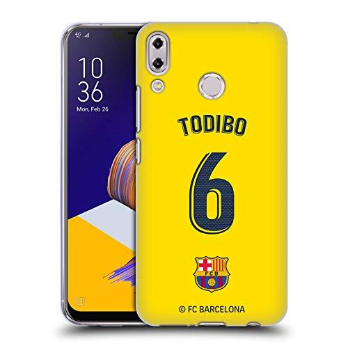 Officiële FC Barcelona Jean-Chair Todibo 2019/20 Spelers Uit Kit Group 2 Soft Gel Case Compatibel voor Asus Zenfone 5z ZS620KL / 5 ZE620KL