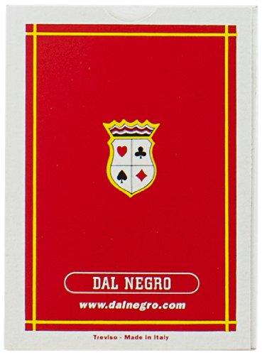 Dal Negro 20010 - Poker St. Moritz Singolo Astuccio Rosso, Carte da Gioco
