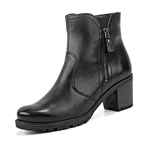 ARA Damen Mantova 1247314 Biker Boots, Schwarz (Schwarz 61), 39 EU