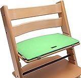 Tripp Trapp - Cojín para silla infantil (fieltro), color verde y gris