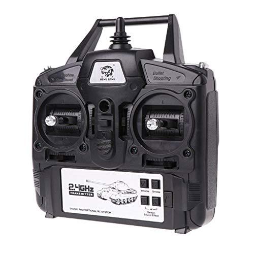 ATATMOUNT 2.4 GHz 5.3 Versión 1/16 Controlador Transmisor Conjunto de Control Remoto para Heng Long RC Panzer Racing Kit DIY Toy