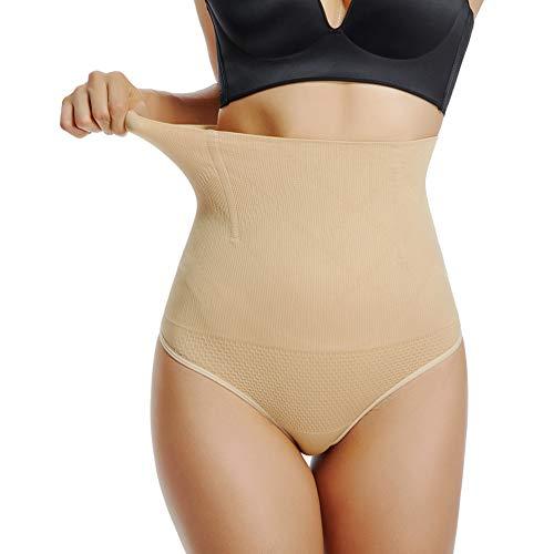 Joyshaper Tanga Faja Reductoras Bragas Vientre Plano Braguitas Cintura Alta Thong String para Mujer