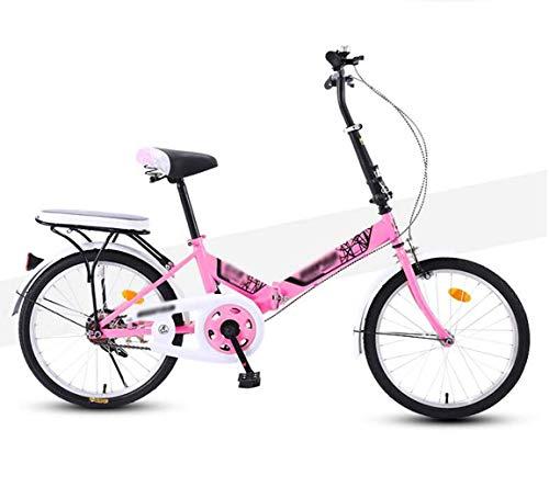 Las mujeres de los hombres de bicicletas de bicicletas, bicicletas plegables portátiles, estudiante de los niños Ultra absorción de choque de luz de bicicletas de montaña, 20inches de velocidad variab
