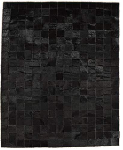 KUHFELL - Alfombra (150 x 200 cm), diseño de patchwork, col