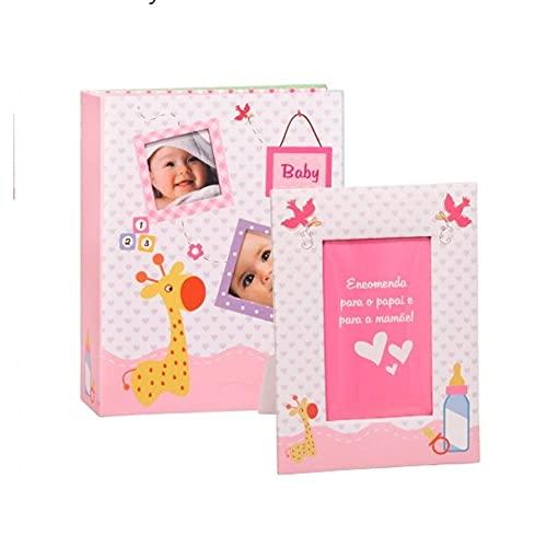 Álbum YES com Porta Retrato Baby - 200 Fotos 10x15cm