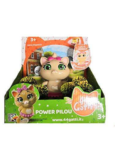 Simba Toys. Personaggio 44 Gatti Pilou con Luci e Suoni 15 cm Prodotto Ufficiale 3+