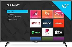 """Smart TV AOC 43"""" Full HD 43S5195/78G"""