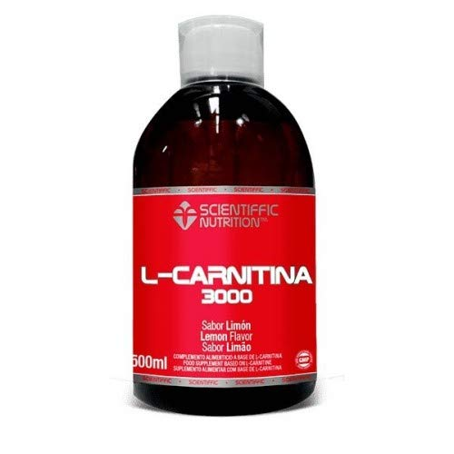 L-carnitina Liquida 3000 Mg 500 Ml - Scientiffic Nutrition, MANZANA