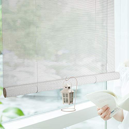Stores enrouleurs Stores En Bois For Fenêtres Avec Cantonnière Et Abat-jour En Bambou De Type Japonais For Terrasse De Belvédère For Balcon, Largeur 80/100/120/140 Cm (Size : 140×300cm)