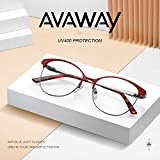 Zoom IMG-2 avaway eleganti occhiali in metallo