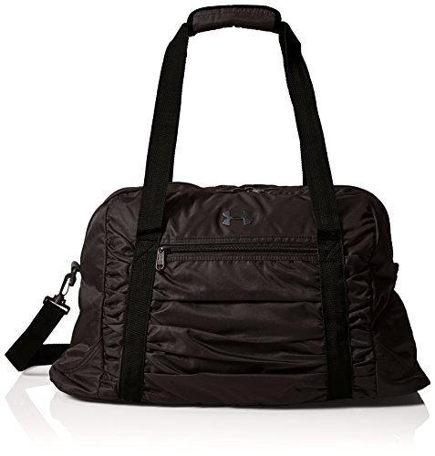 Under Armour Women's The Works Gym Bag, Black (001)/Silver, One Size Fits All