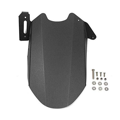 Schutzblech Kotflügel hinten Kotflügel Reifen-Rad-Hugger Schlamm Spritzschutz Verkleidungs Für 2013-2020 MT07 FZ07 MT07 FZ07 MT 07 Accessoires schwarz (Color : Black)