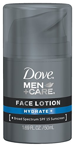 Dove Men + Care Face Lotion Hydrate + 1.69 OZ - Buy Packs and SAVE (Pack of 5)