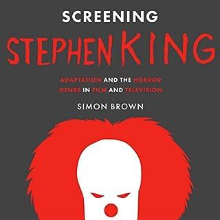 Screening Stephen King audiobook cover art