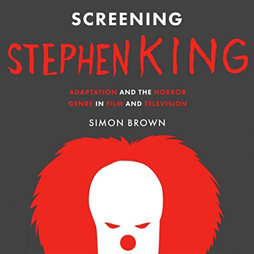 Screening Stephen King audiobook cover art
