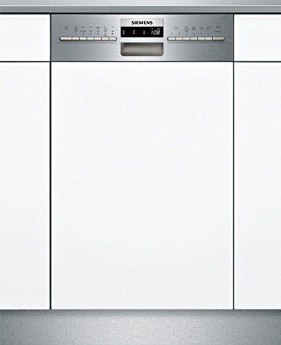 Siemens SR536S01ME Geschirrspüler Teilintegriert / A+ / 237 kWh/Jahr / MGD / 2660 l/Jahr / Edelstahl / DuoPower-Doppelsprüharm / DosierAssisten