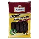 Berggold Gelee Bananen 2er Pack (2 x 250 g) Gelee mit Bananengeschmack mit Schokoladenüberzug Glutenfrei