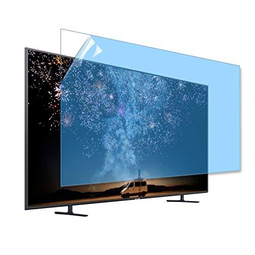 GFSD Protector de Pantalla Pet TV, LCD Antichoque Bloquear La Luz Azul UV Proteja El Ojo Los Niños Filtro Pantalla TV, Varios Tamaños (Color : HD Version, Size : 46 Inch 1017 * 570mm)