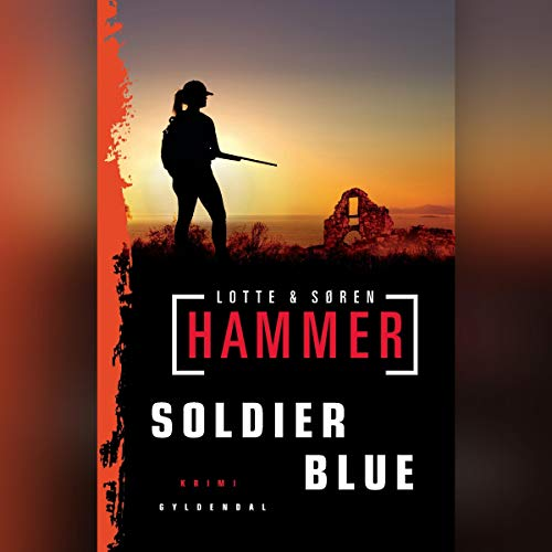 Soldier Blue (Danish edition) audiobook cover art