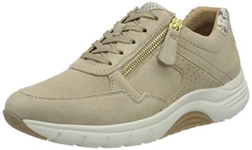 Gabor Shoes Damen Rollingsoft Sneaker, Beige (Desert/Beige 34), 40 EU