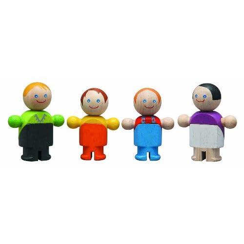 Plan Toys Famiglia delle Bambole Casual Family