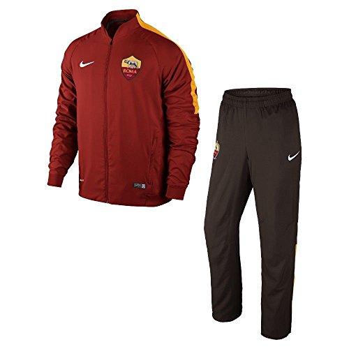 Boys Trainingsanzug Nike AS Rom Squad Sideline 2014/15Freizeit, Unisex - Erwachsene, rot