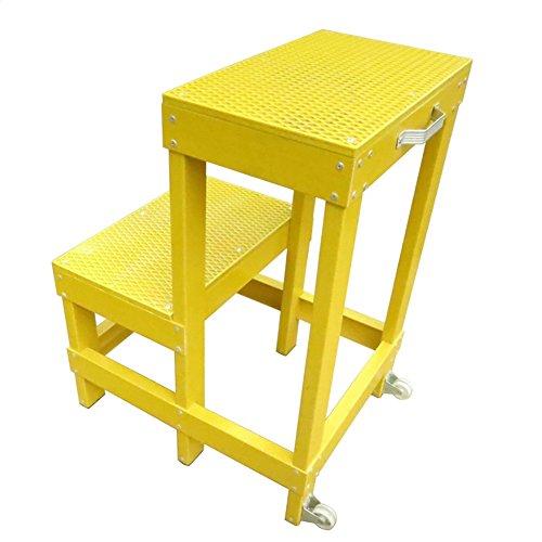 Elektriker doppelt isoliert Hocker Insulated High und Low Hocker Insulated Plattform Insulated Hocker Leiter for Live-Arbeit Stabilität und Sicherheit