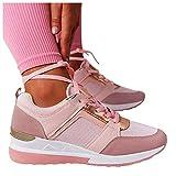 Dasongff Zapatillas de deporte para mujer, transpirables, ligeras, deportivas, de malla, para el tiempo libre, para correr, entrenar, para actividades al aire libre, fitness, gimnasio, caminar