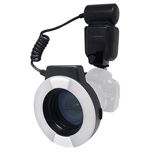 Mcoplus MCO-14EXT-N 5500K Macro TTL de flash anular para Nikon i-TTL con...