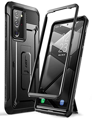 SUPCASE Unicorn Beetle Pro Series Case Cover for Samsung Galaxy Note 20 Ultra(2020 Release), Full-Body Rugged Holster & Kickstand Without Built-in Screen Protector (Black)