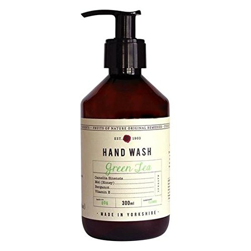 Fikkerts Luxury Green Tea & Bergamot Oil Hand Wash (300ml)