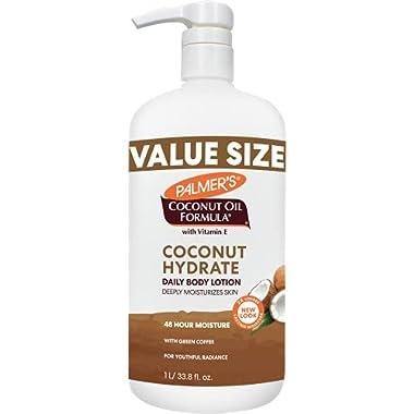 Palmer's Coconut Oil Formula Body Lotion, Value Size, 33.8 Ounce