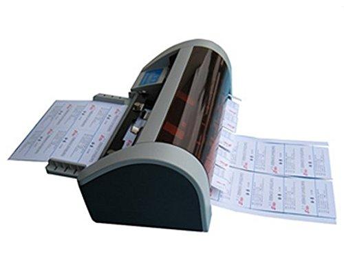 GOWE Cortadora de tarjetas de visita semiautomática, tamaño A4, dimensiones mecánicas: 475 mm, 280 mm, 220 mm.