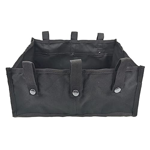 Underseat Bag for Rollator Walker Organizer Accessories Rolling Walker Basket Pouch for Wheelchair Under Seat Medical Basket Replacement Rollator Storage Bag for Books Shopping and Essentials Carrying