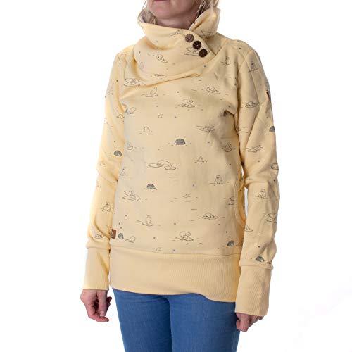 Ragwear Angel Hoodie - Sudadera con capucha para mujer vainilla S