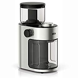 Image of Braun KG7070 Burr Grinder, 7.4 x 5.2 x 10.6 Inches, Stainless Steel: Bestviewsreviews