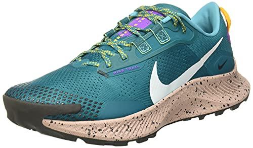 Nike Pegasus Trail 3, Zapatillas para Correr Hombre, Mystic Teal/Dk Smoke Grey, 46 EU