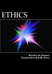 Book cover: Ethics by Benedict de Spinoza